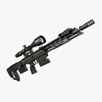 sniper rifle 3D models