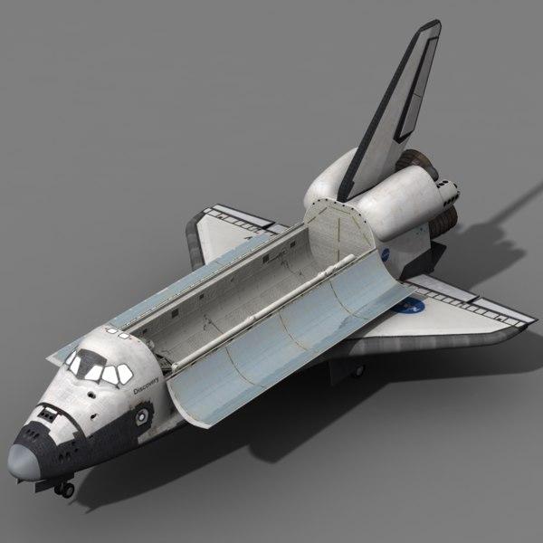 Space Shuttle 3D Models