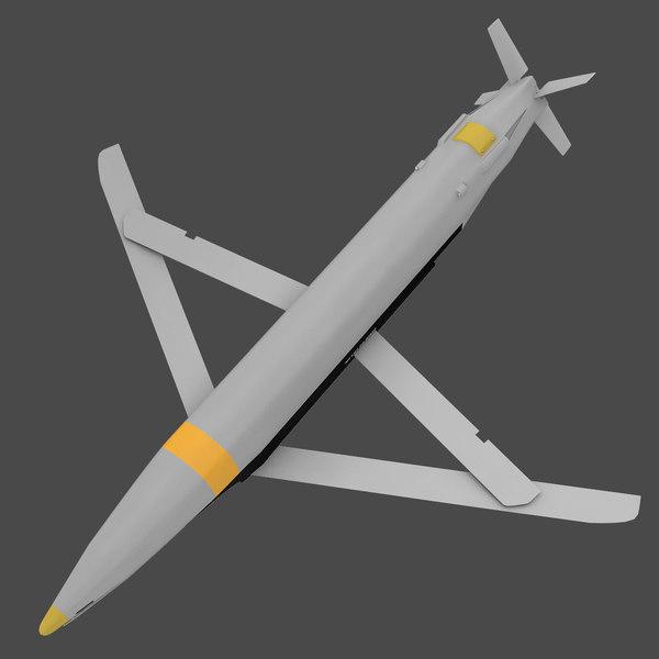 GBU-39B Small Diameter Bomb 3D Models