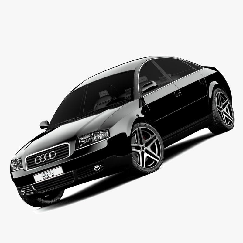 Dwg Audi A6 C5 Car