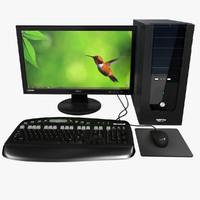 computer 3d models