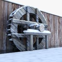 water turbine 3D models