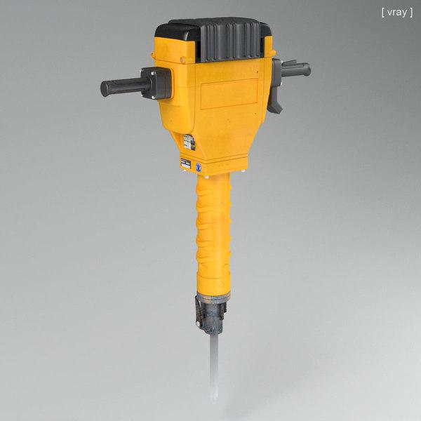Jackhammer 3D Models
