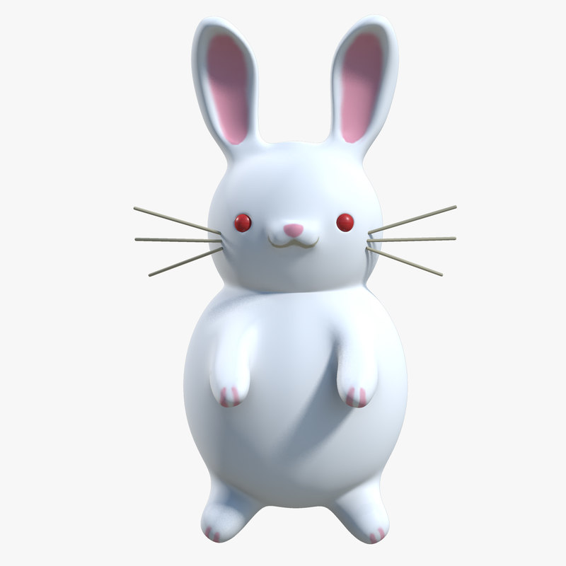 white rabbit 3d model maya signature new.jpg
