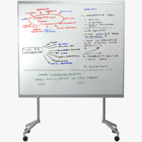 whiteboard 3D models