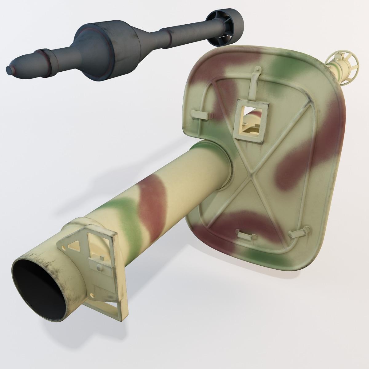 الأسلحة المضادة للـدبابات في الحرب العالـمية الثانية WWII_German_Anti_Tank_Rocket_Launcher_Panzerschreck_54_Set_003.jpge0885ba0-bb81-450b-9e3a-712f8e901817Original