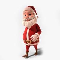 santa claus 3d models