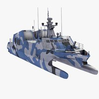 fast attack craft 3D models