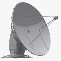 satellite dish 3D models