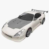 toyota supra 3D models
