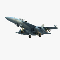 Boeing EA-18G Growler 3D models