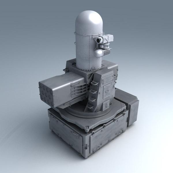 Mk15 Mod 3 Sea Ram Ciws 3D Models