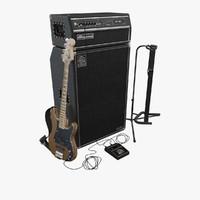 Guitar Amplifier 3D models