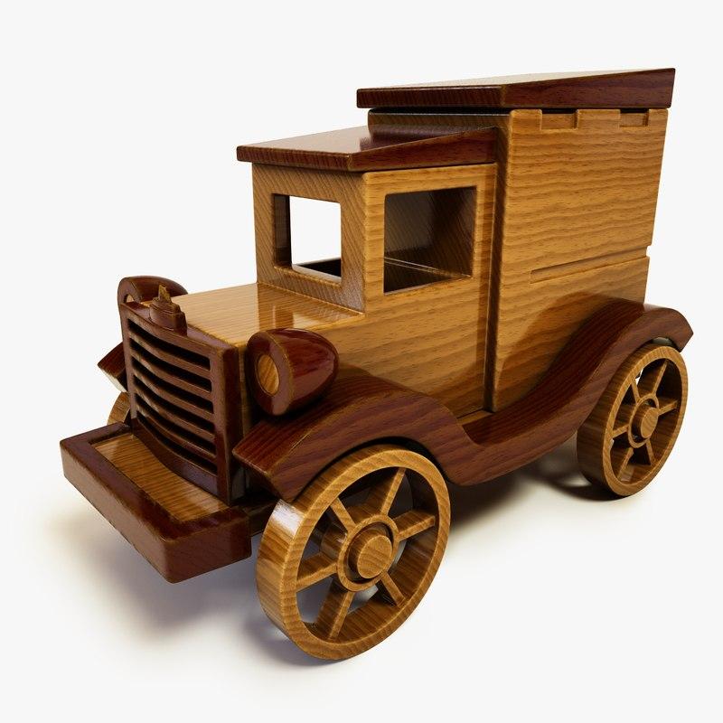 Wooden Toy Car Present OK.bmp