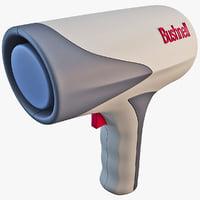 radar gun 3D models