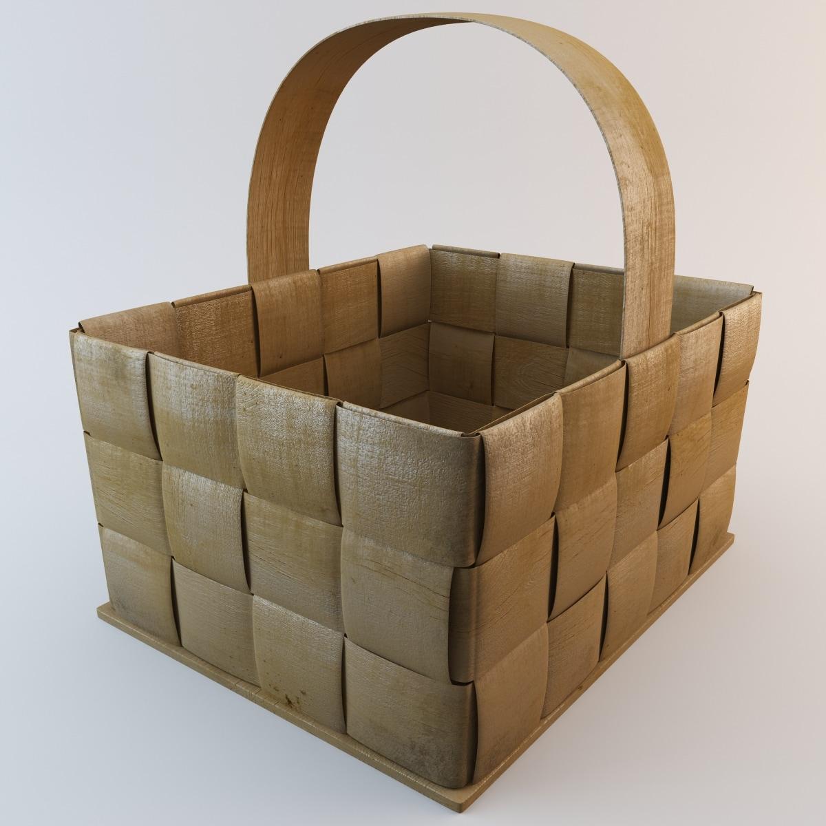 Wooden Basket 4
