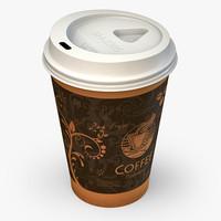 coffee 3D models