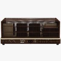 stereo amplifier 3D models
