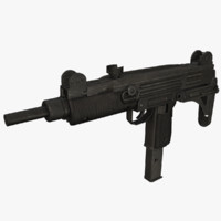 machine gun 3D models