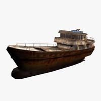 shipwreck 3D models