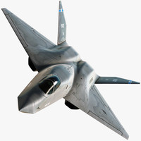 stealth aircraft 3D models