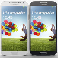 Samsung Galaxy S4 3D models