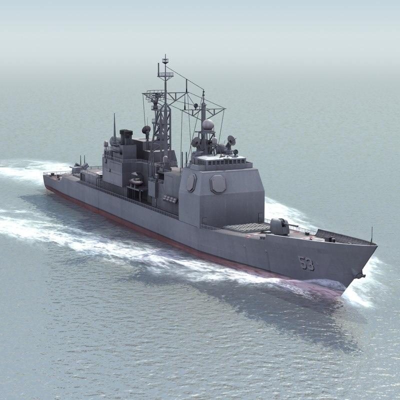 Ticonderoga Cruiser CG53