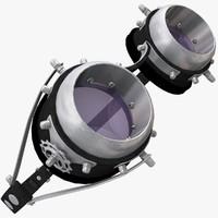 Steampunk Goggles 3D models