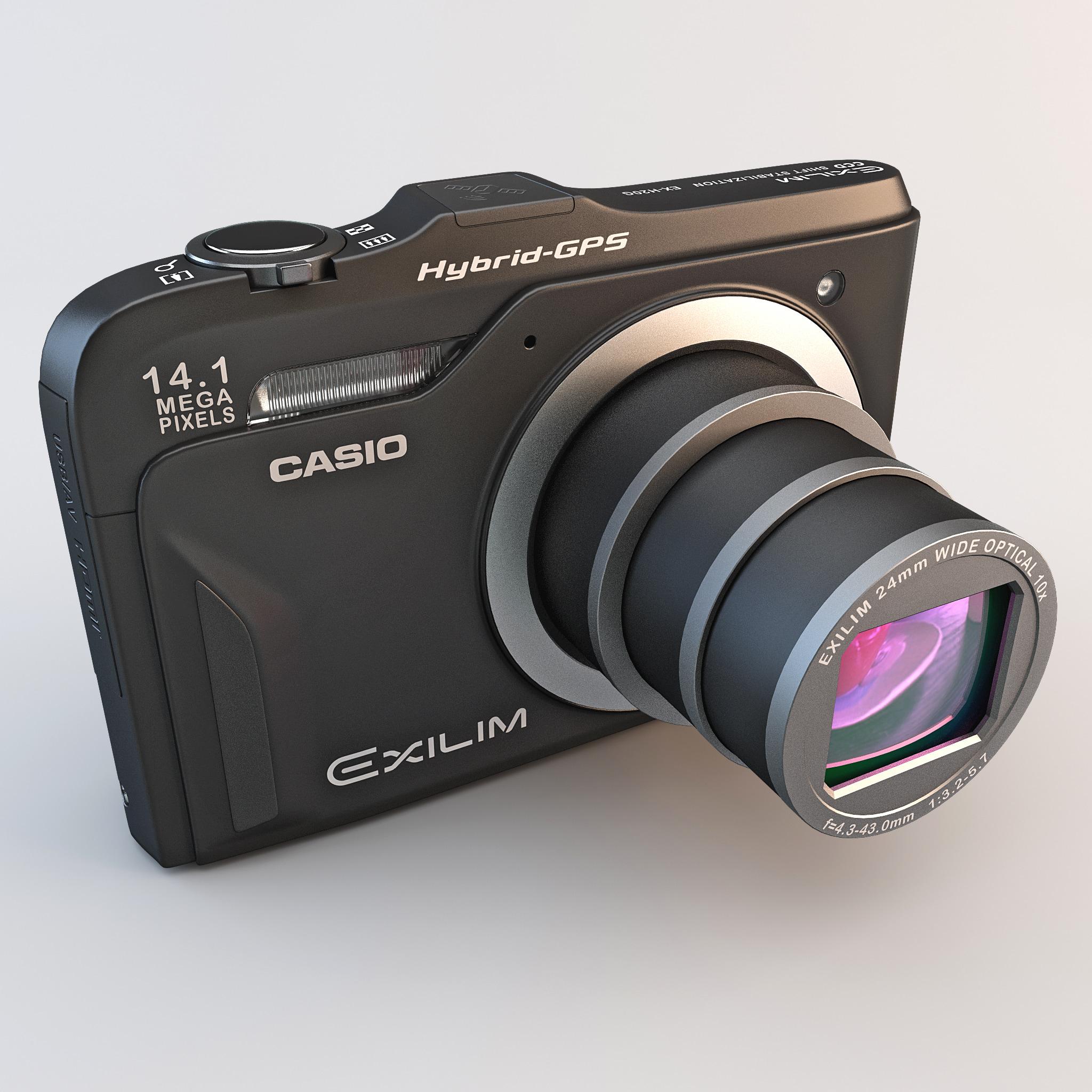 Digital Camera Casio Exilim Ex h20g