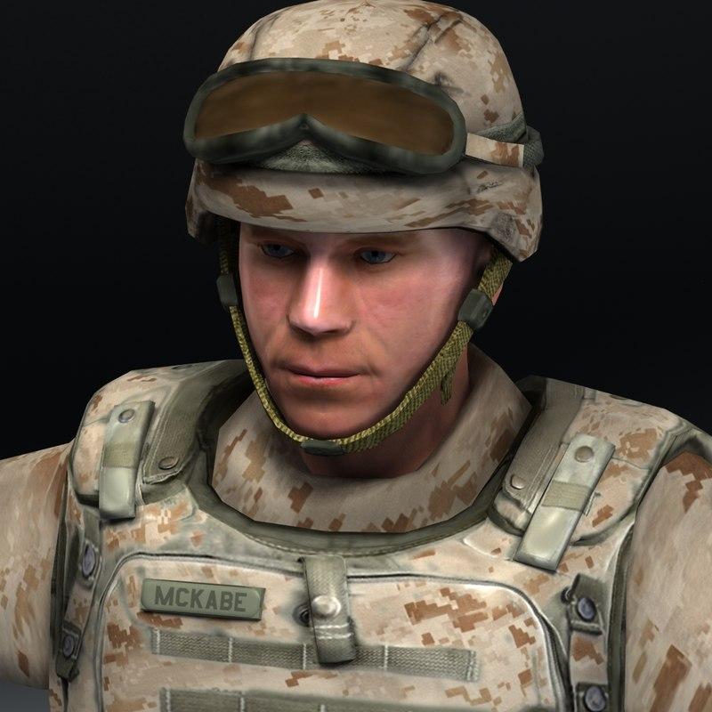 US Marine Infantry D