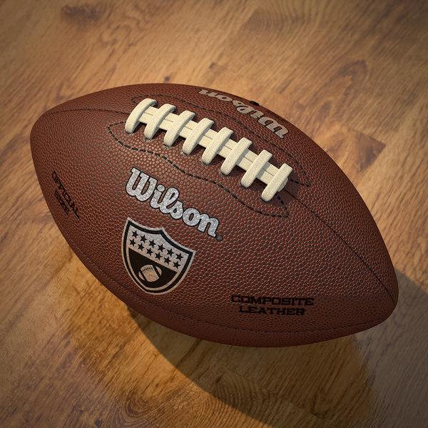 American Football 3D Models