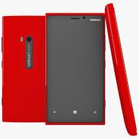 Nokia Lumia 920 3D models
