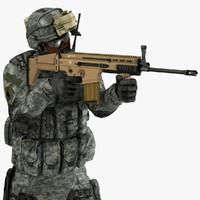 soldier 3d models