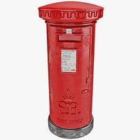 mailbox 3D models