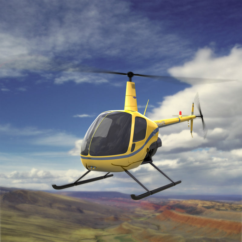 Helicopter Robinson R-22 Beta