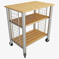 Kitchen Cart 3D models