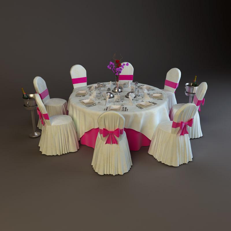 Ballroom Table