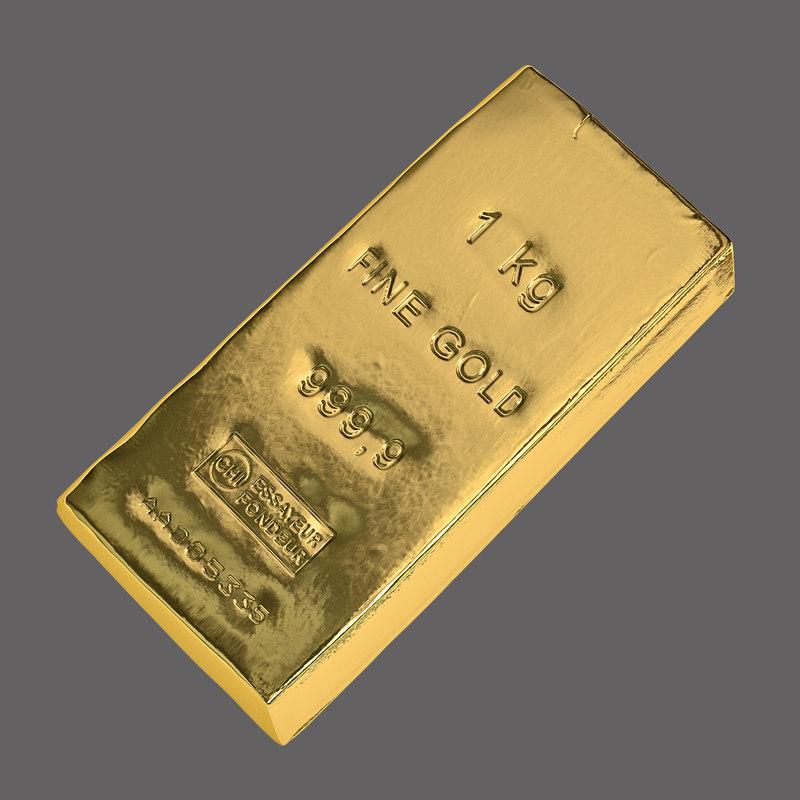 Gold Bar Kilobar