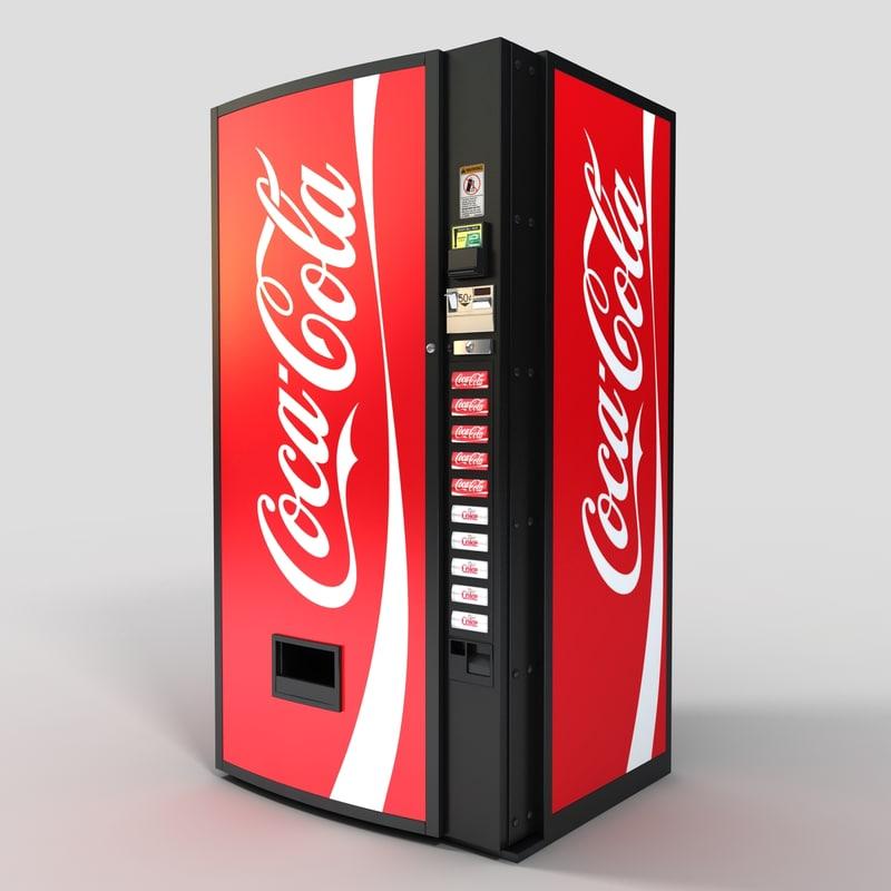 coke drink machine