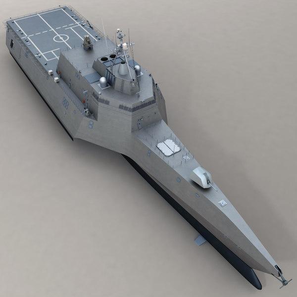 Littoral Combat Ship 2 3D Models