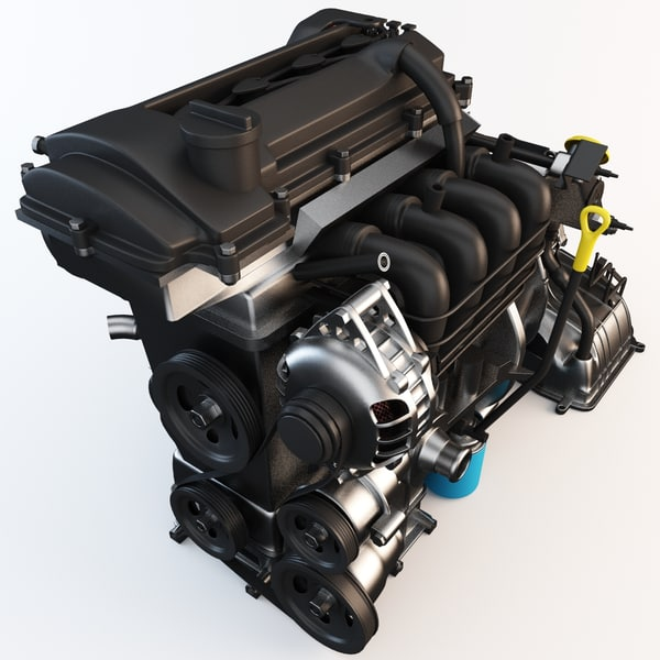 Car Engine 2 3D Models