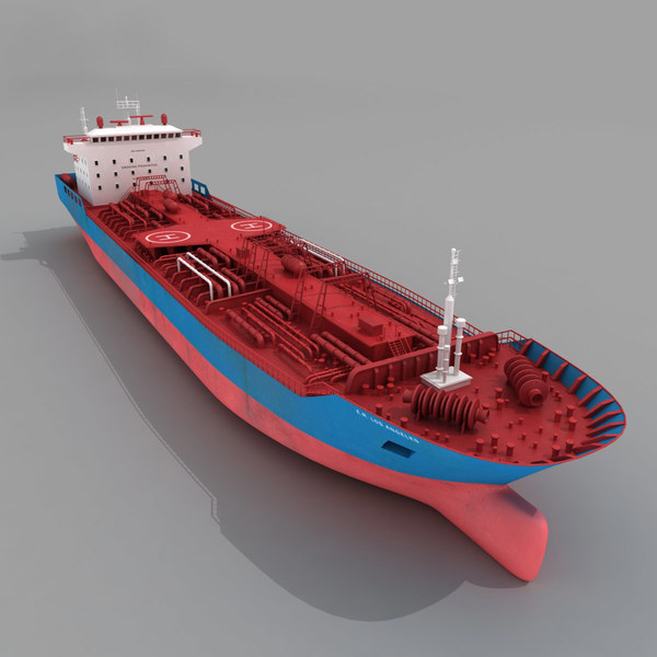 Ship Tanker Oil Cargo 3D Models
