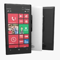 Nokia Lumia 928 3D models