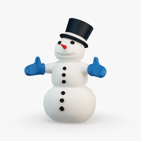snowman 3d models