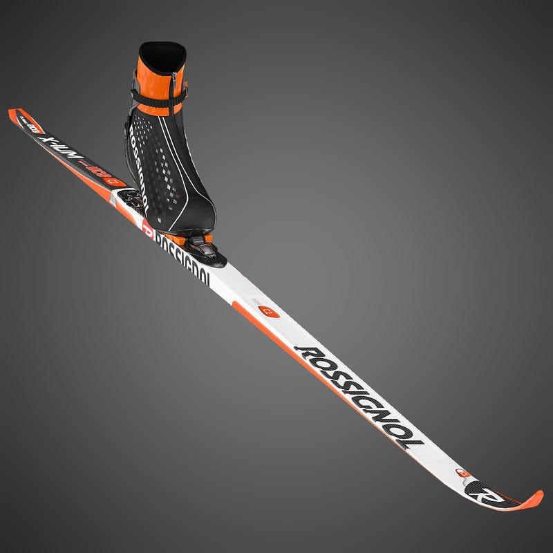 Biathlon Skiing Kit