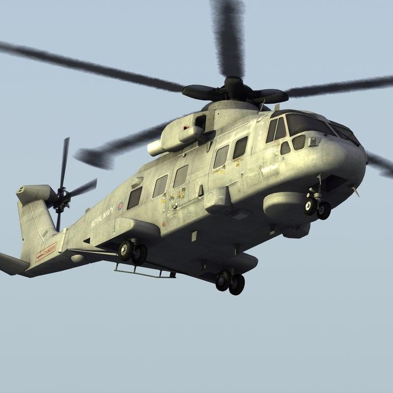 Merlin HM1 UK Navy