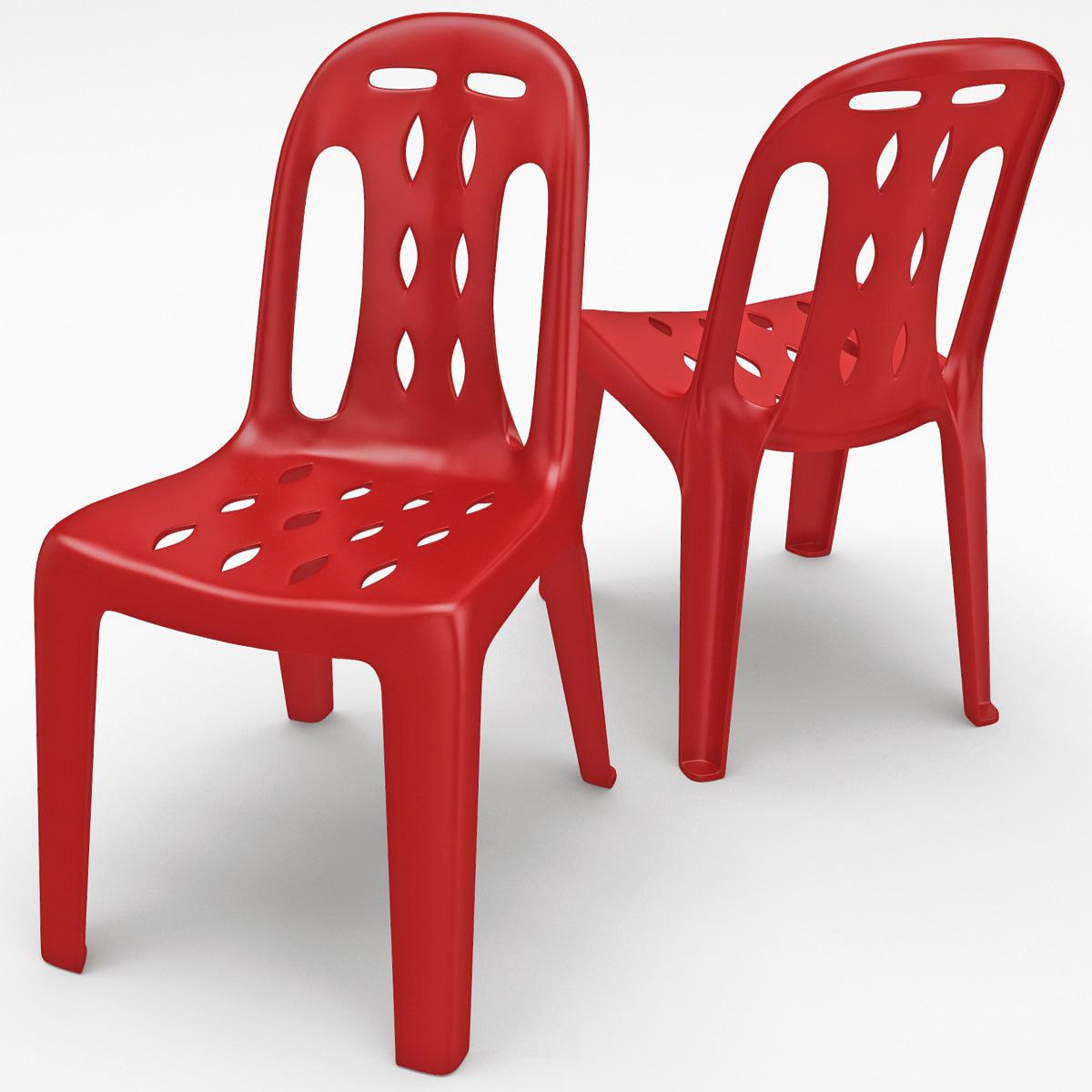 Monobloc Chair: 3ds Max Monobloc Chair 5