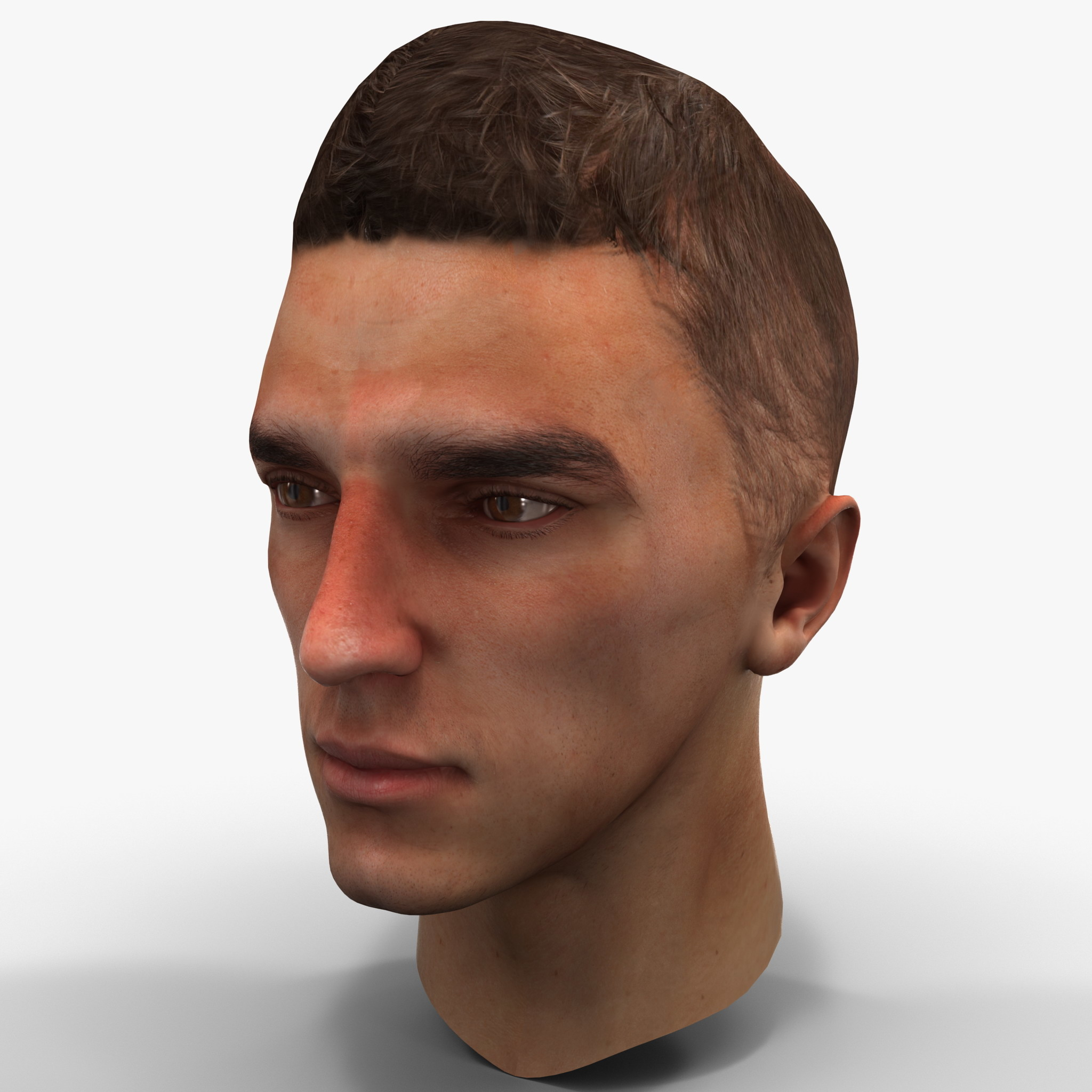 Male Head 4