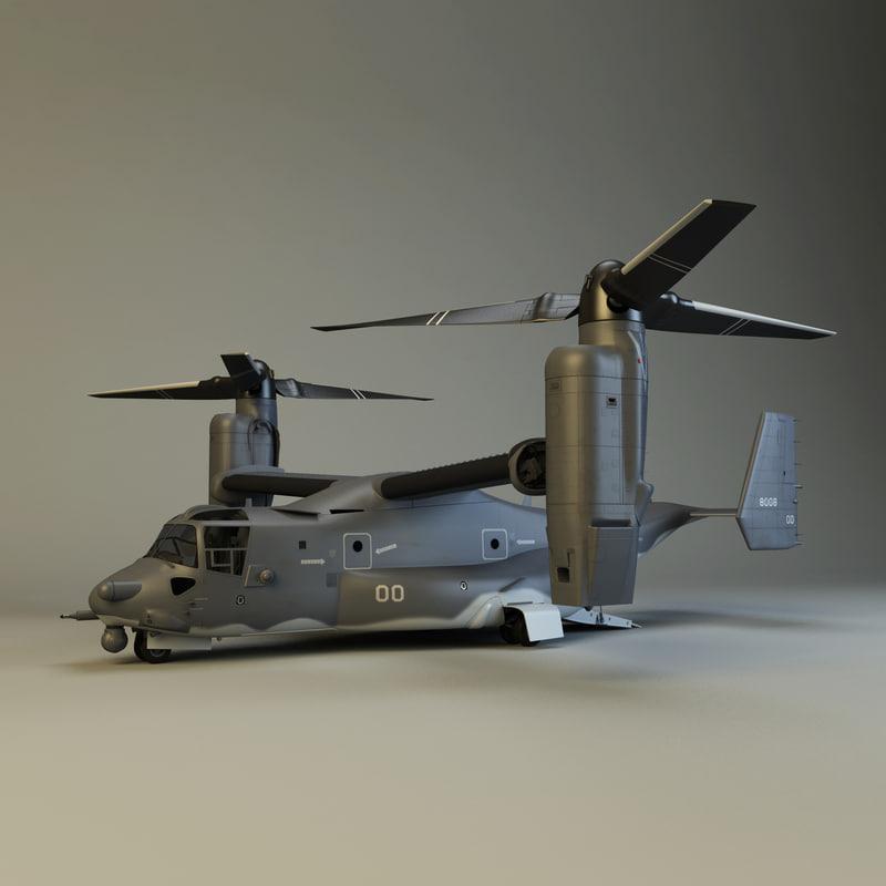 cv 22 osprey 3d model