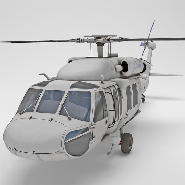 EH-60 Black Hawk 2 3D Models